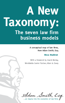 A New Taxonomy: The seven law firm business models
